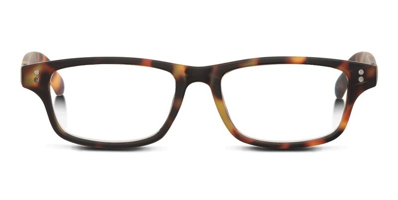 Looplabb reading glasses Shannara turtle brown +2.00