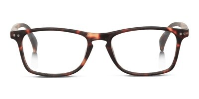 Looplabb reading glasses Legend turtle brown