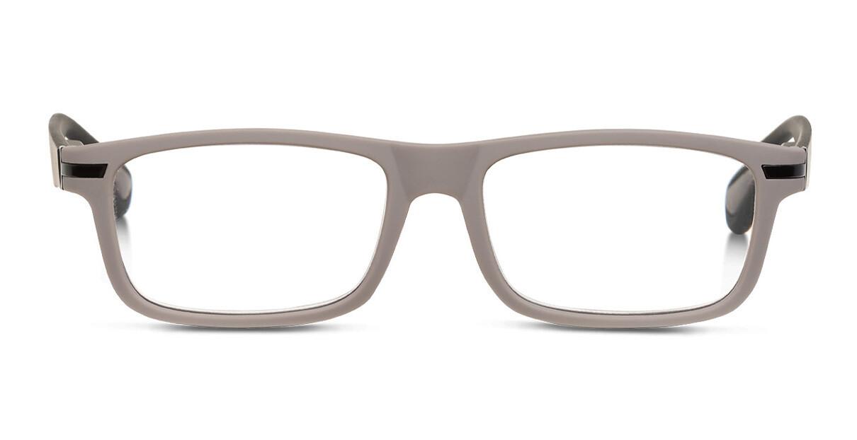 Looplabb leesbril Empress warm grijs/zwart +2.50