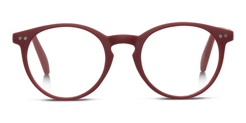 Looplabb reading glasses Lolita warm burgundy +2.50