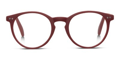 Looplabb reading glasses Lolita warm burgundy S+2.50