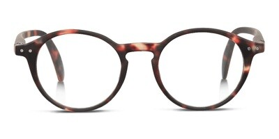 Looplabb reading glasses Faust turtle brown