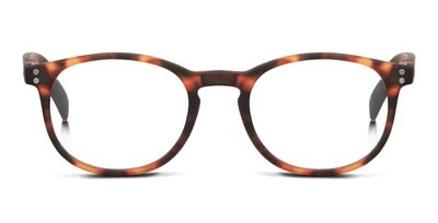Looplabb reading glasses Dune turtle brown S+1.00