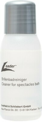 Leader cleaner for spectacles bath