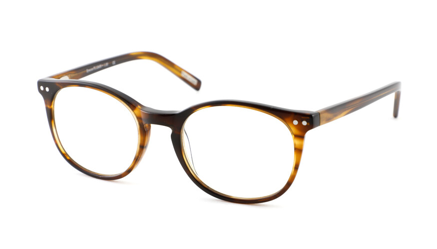 Reading glasses Frank and Lucie Eyecon FL12400 Amber Brown +1.50