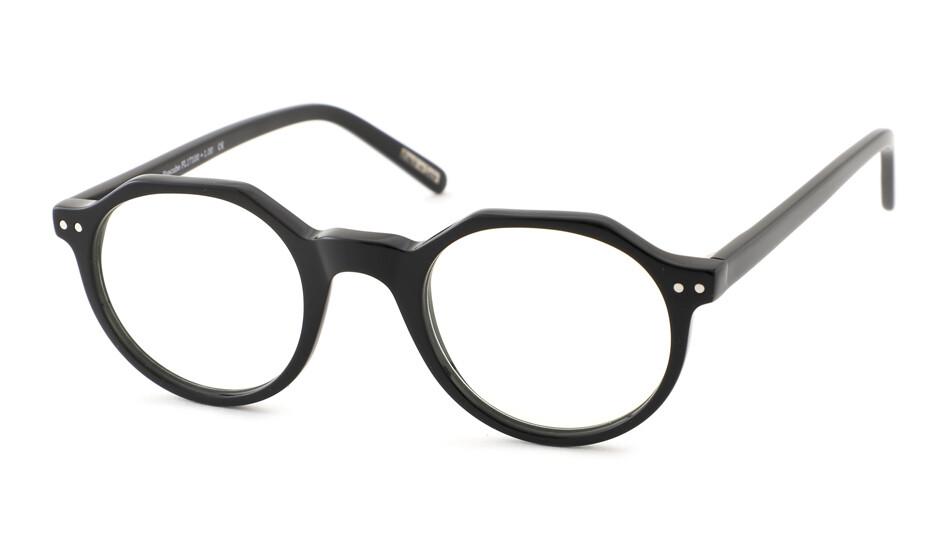 Reading glasses Frank and Lucie Eyecube FL17100 black +2.50