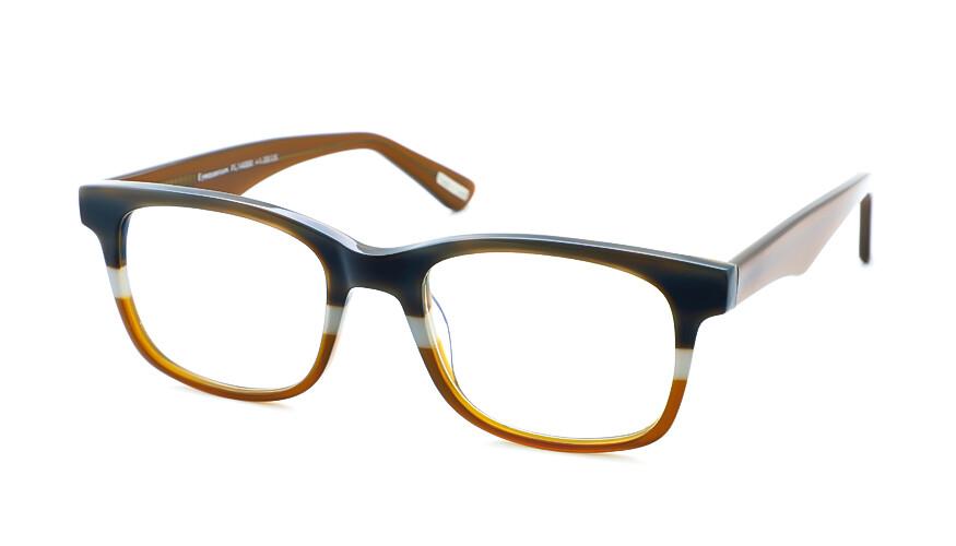 Frank and Lucie leesbril Eyequarium FL14050 misty cognac +1.50