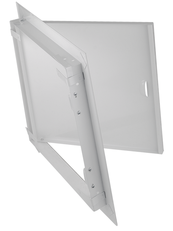 Люк с магнитом Uniseve-M 500*500 белый (мет.)