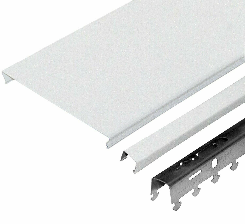Компл. потолка д/ванной 1,7х1,7м A150AS HL0101B белый жемчуг (алюм.)