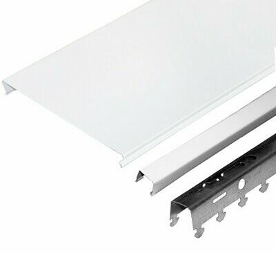 Комплект потолка д/ванной 1,7х1,7м A150AS белый матовый (алюм.)