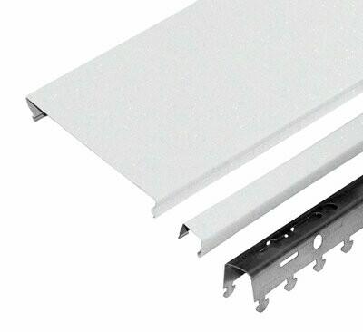 Компл. потолка д/туал 1,35х0,9м A100AS HL0101B белый жемчуг (алюм.)