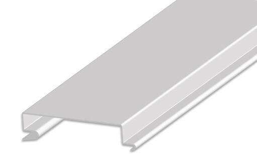 Рейка AF250C 9003 белая оцинк. L=3.00 (мет.)