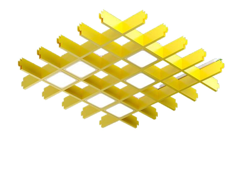 Светильник LED Pelin PIX 6 64x64 Опал 5000K, (компл. 6 шт по 850 Лм, ячейка 75х75)