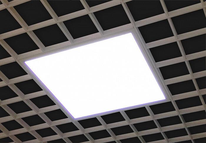 Светильник ULTRA LIGHT LED Албес 3420Лм/6500К рассеиватель ОПАЛ для грильято