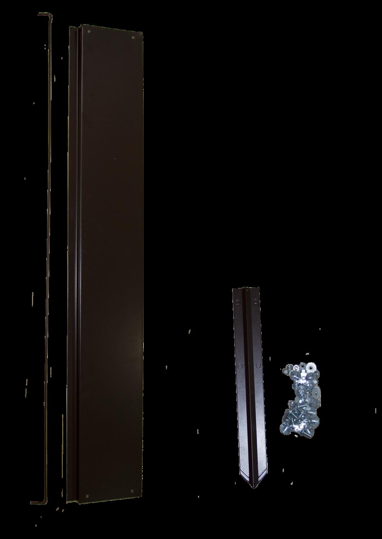 Удлинитель грядки оцинкованный, 0,7х1m, цвет коричневый