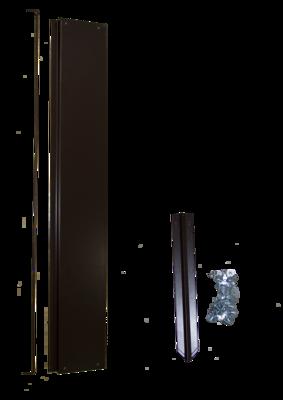 Удлинитель грядки оцинкованный, 1х1m, цвет коричневый