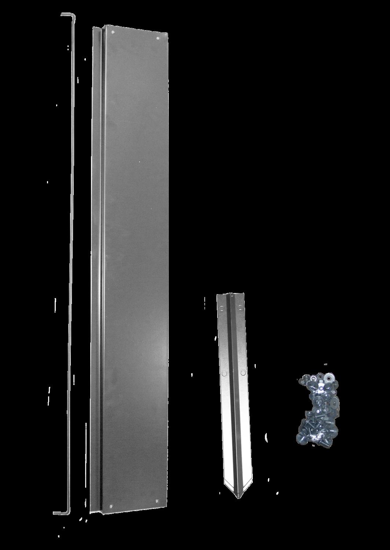 Удлинитель грядки оцинкованный, 1х1m, неокрашенный
