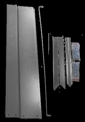 Удлинитель высокой грядки оцинкованный, 1m, неокрашенный
