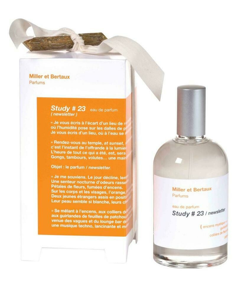 STUDY #23 newsletter Eau de Parfum 100ml