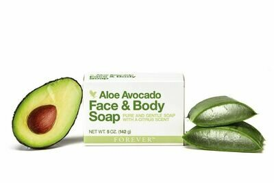 ALOE AVOCADO Face & Body Soap 142g