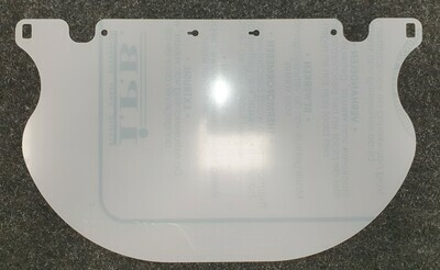 Replacement label for FACEshield Premium