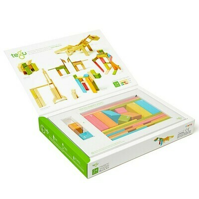TEGU 24 Piece Classic Set in TINTS