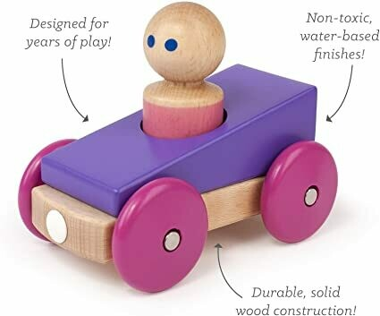 TEGU Magnetic Racer - Purple