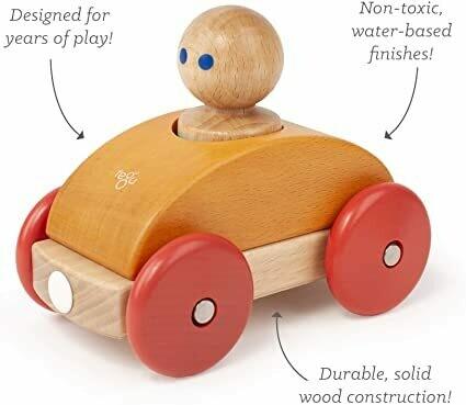 TEGU Magnetic Racer - Orange