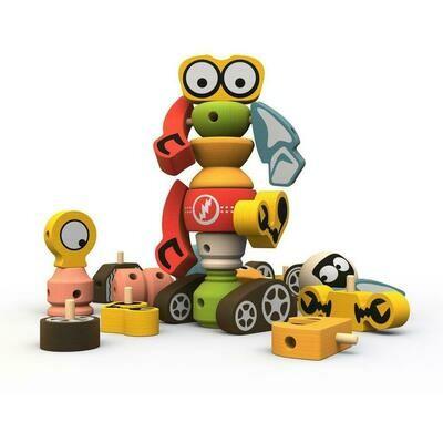 BeginAgain Tinker Totter Robot Character Play Set