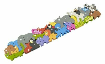 BeginAgain Animal Parade JUMBO Puzzle & Play Set