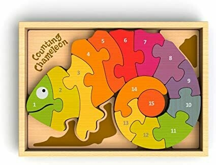 BeginAgain Counting Chameleon Puzzle