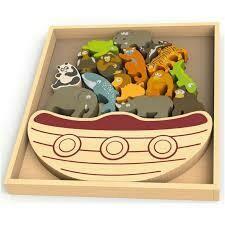 BeginAgain Balance Boat - Endangered Animals