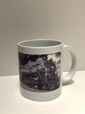 Atlantic Coast Line Steam Engine Mug