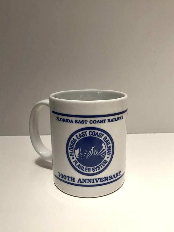 Florida East Coast Railway 100th Anniversary Mug