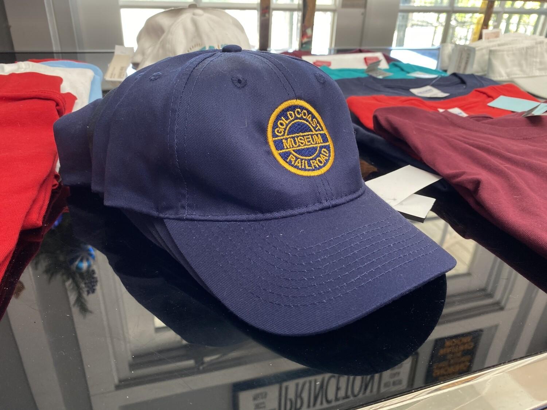 Gold Coast Railroad Official Blue Cap
