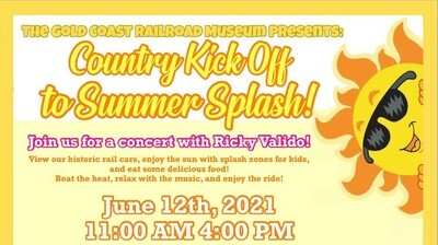 Country Kick Off to Summer Splash (CHILD 3-12 PRE-SALE)