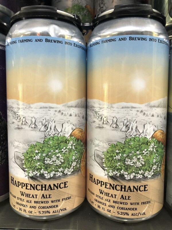 Brookeville Beer Farm - Happenchance Wheat Ale