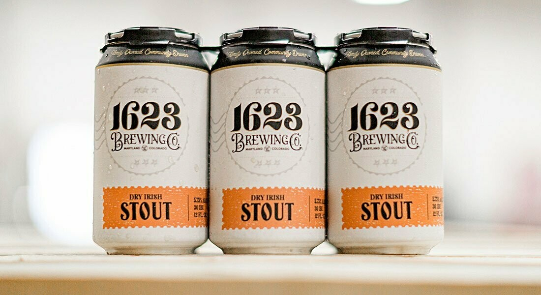 1623 Brewing - Dry Irish Stout
