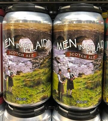Red Shedman - Men in Plaid - Scotch Ale