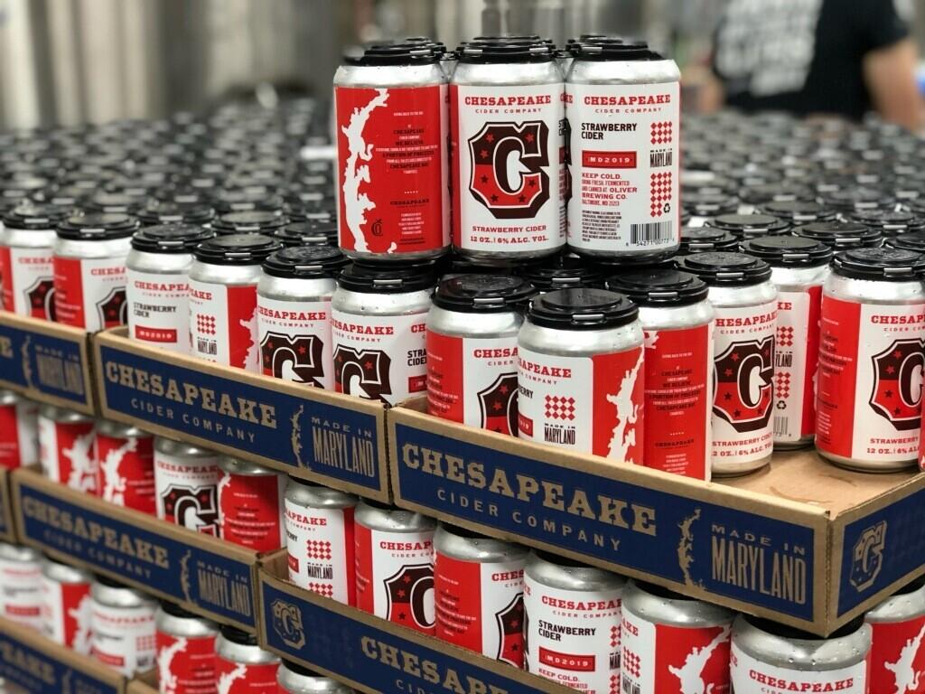 Chesapeake Cider - Strawberry Cider