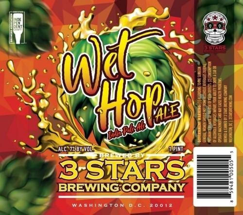 3 Stars - Wet Hop IPA