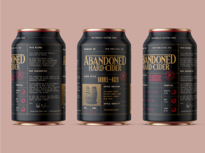Abandoned Hard Cider - Barrel