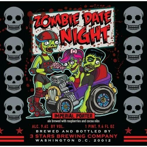 3 Stars - Zombie Date Night