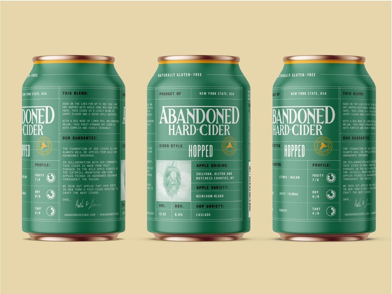 Abandoned Hard Cider - Hopped