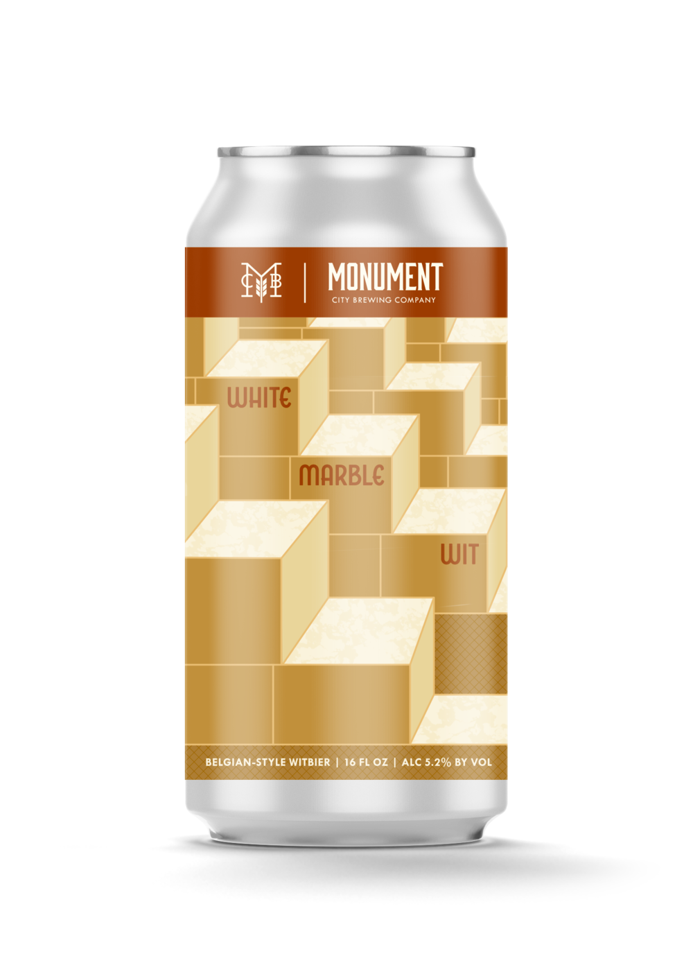 Monument City - White Marble Wit