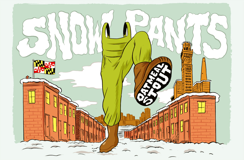 Union - Snow Pants - Oatmeal Stout