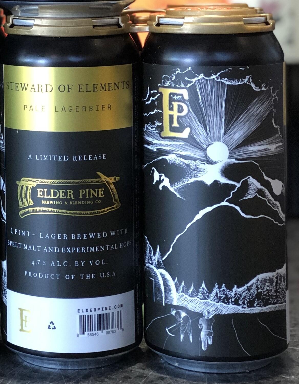 Elder Pine - Steward of Elements Pale Lagerbier