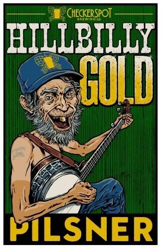 Checkerspot - Hillbilly Gold