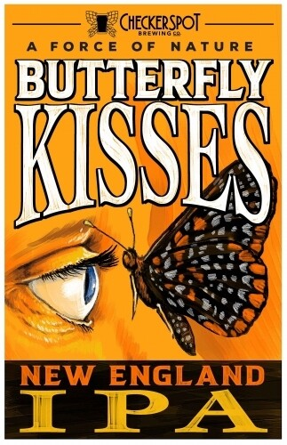 Checkerspot - Butterfly Kisses