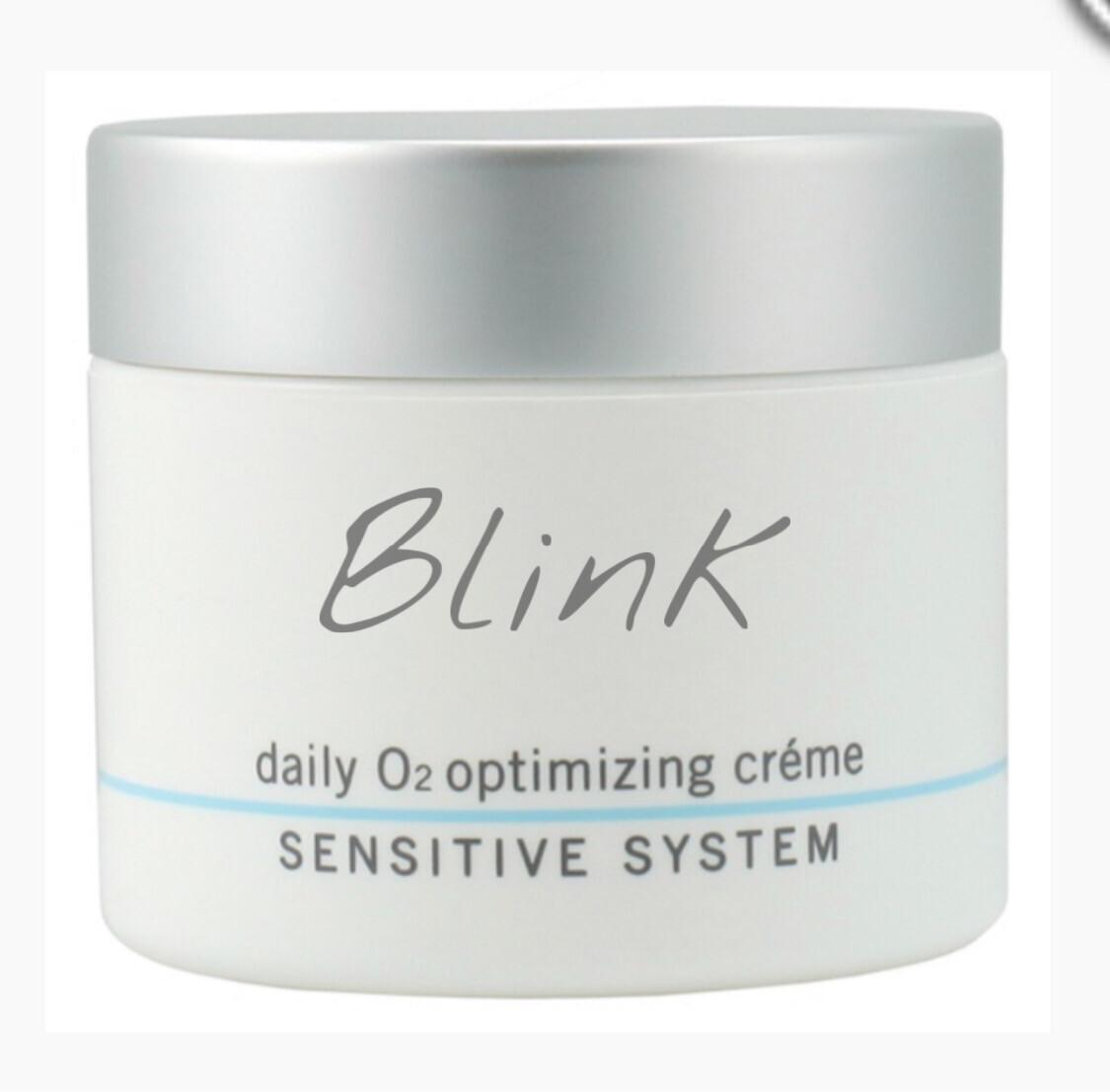 Blink Skincare Daily O2 Optimizing Creme Sensitive System